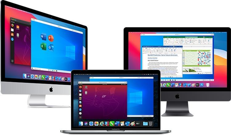 Parallels Desktop 16 wydajnosc